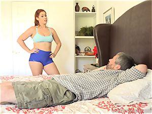 Edyn Blair boned By meaty black knob husband observes