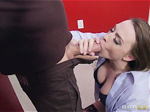 Married damsel Chanel Preston gets titfucked and her snatch pummeling by thief
