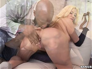 Summer Brielle gets her tight slit stuffed by Prince and his fat beef whistle