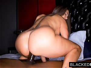 BLACKEDRAW Ava Addams Is tearing up big black cock And Sending images To Her spouse