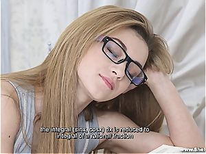 She Is Nerdy - Sonya yummy - Nerdy fucky-fucky dream