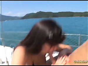 brazilian assfuck boat journey