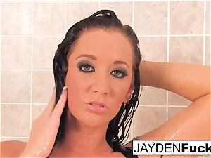 busty Jayden Jaymes Takes A red-hot long shower