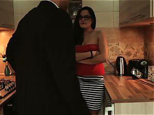 Los Consoladores - FFM consolation threesome for a babe