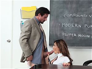 Addison Ryder gets her beaver torn up by her red-hot educator