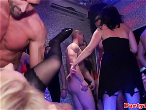 soiree inexperienced unloads after getting fingered