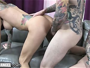 big-boobed tattooed cougar Cams With Joanna Angel
