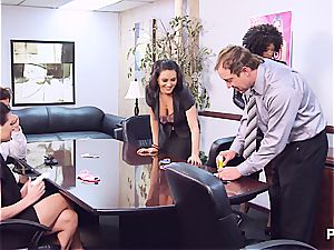 Getting crazy in the office part 1