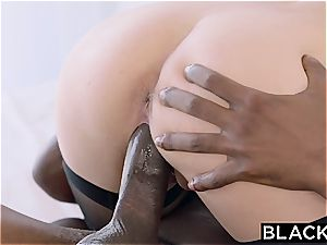 Arab damsel Audrey Charlize luvs the taste of a bbc