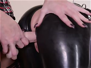 rigorous housewife with phat beef whistle nails her subordinated spandex Lucy