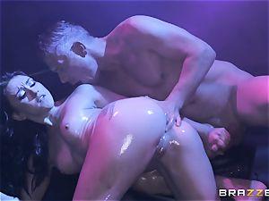 Mandy Muse bum pummeled deep by Mick Blue