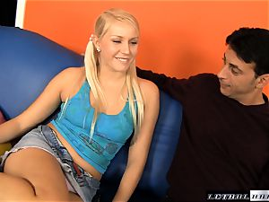 Raylene lets sugary-sweet teen Vanessa cage join in the fun