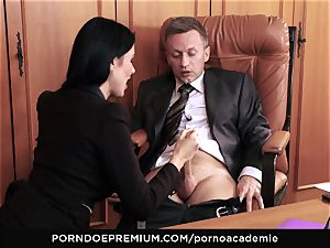 porn ACADEMIE - anal invasion hook-up for Ania Kinski in threesome