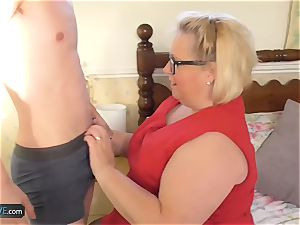 AgedLove plumper mature Lexie and Sam Bourne xxx