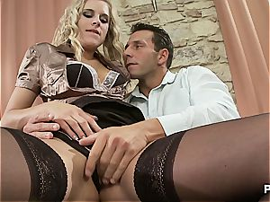penetrated in his personal office