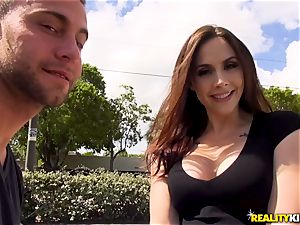 Chanel Preston loves a new geyser of spunk