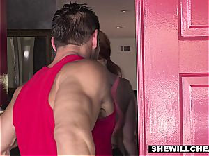 SheWillCheat - molten bootylicious wife tearing up intimate Trainer