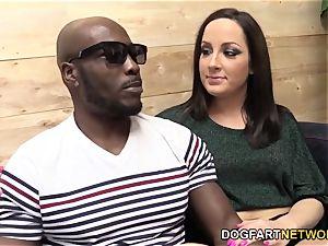 Marley Blaze Does Her very first multiracial ass-fuck