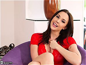 Chanel Preston is a pro at inhaling man-meat