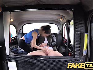 fake taxi Russian wooly gash all-natural funbags