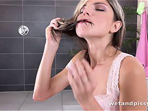 peeing her pants makes Gina Gerson kinky