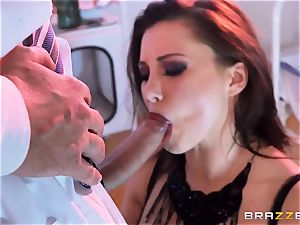 Anna Polina gets it in her horny clam