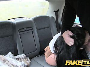 fake cab super-sexy mummy Candi Kayne pulverized rock-hard