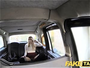 fake cab fine plow anal sex and giant facial for light-haired