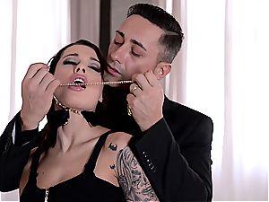 Nikita Bellucci pulverized and DP'd like a true mega-bitch