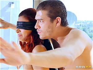 blindfolded dp for Jade Jantzen