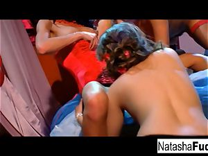 Charley chase, Natasha adorable, Sophie Dee, and river J wet