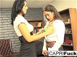 Capri Cavanni and Zoey Holloway shag