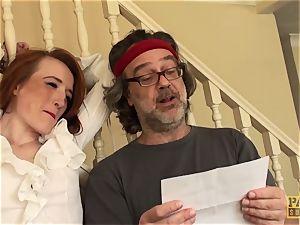 PASCALSSUBSLUTS - Sabrina Jay dicked rock hard in restrain bondage