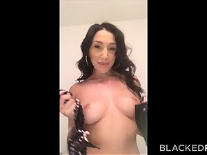 BLACKEDRAW Latina wifey sodimized by the largest dark-hued spunk-pump ever