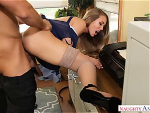 Nicole Aniston Chad Office internal ejaculation