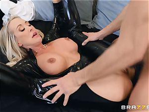 Brandi love smashed in her moist slit