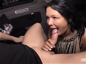 arses BUS - Bus boink and facial cumshot with big-boobed German milf