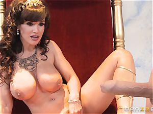 luscious cougar Lisa Ann is goddess of special ravaging
