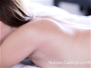 Nubiles casting - xxx pornography casting for new-cummer