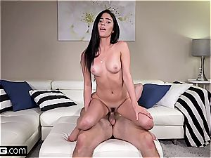 dual personal casting episode with a dark haired ultra-cutie Jasmine Vega