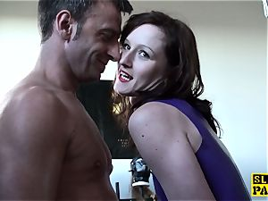 british domme predominated and made to deep-throat