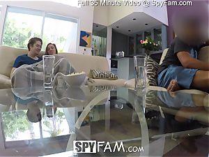 SpyFam Step sis Lena Paul plows step brother