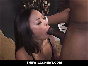 SheWillCheat - warm chinese wifey rode By big black cock
