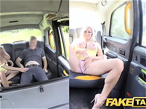 fake cab phat udders blonde Michelle Thorne