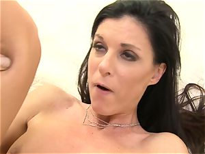 Piano teacher fits his huge rod into India Summers