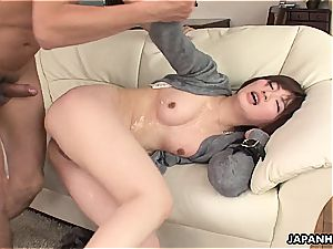 cuckold asian wifey romped in a wet session
