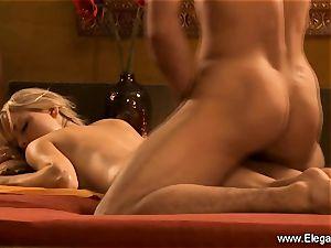 rectal sex sensation from ash-blonde mummy