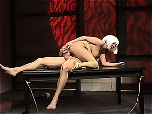 Charley chase is a platinum haired boink damsel