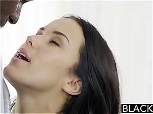 BLACKED Megan Rains very first practice With meaty black penis Part 1