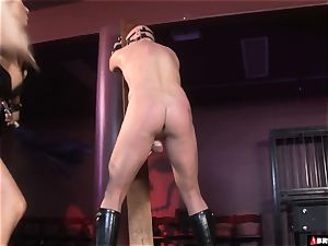 female domination whips and controls until assfuck creampie
